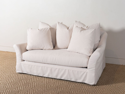 CAMILLE IVORY LOVESEAT