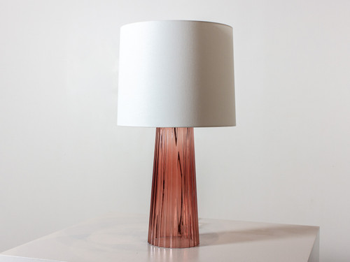 DANUBE TABLE LAMP ROSEWATER