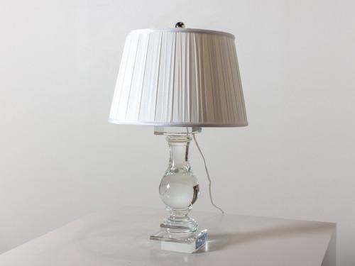 BALUSTRADE TABLE LAMP CRYSTAL