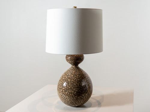 GANNET TABLE LAMP BONE SIENNA