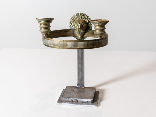 ANTIQUE EMPIRE CANDLE STAND