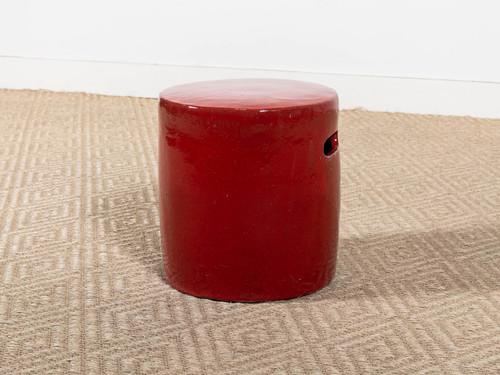 IDRIS STOOL RUBY RED