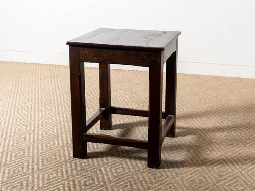 VINTAGE SQUARE SIDE TABLE