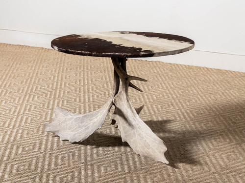 VINTAGE SWEDISH ANTLER TABLE