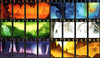 Examples of the stunning card art in Lost Cities, image used with permission from www.boardgamereview.co.uk
