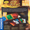 Back of the box Lost Cities,  Buy Amazing Two Player Games from Out of Town Games