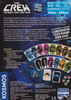 The Crew: Quest for Planet Nine back of the box buy the trick-taking card game from Out of Town Games
