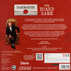Taskmaster the Board Game back of the box - buy the award winning party game from Out of Town Games