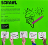Scrawl 12+ back of the box buy the family party drawing game from Out of Town Games