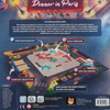 Back of the box of Dinner in Paris - Strategy board games from Out of Town Games