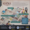 Khôra: Rise of an Empire Board Game back of the box - buy strategy games from out of town games
