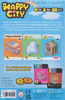 Happy City Card Game back of the box - buy family games from out of town games