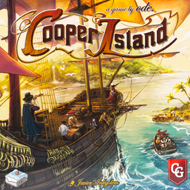 Cooper Island (2nd Edition with Solo Against Cooper) Buy Great Board Games from Out of Town Games
