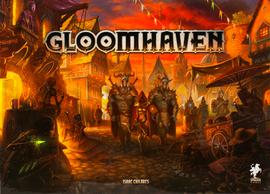 Buy Gloomhaven and other Great Co-operative Board Games from Out of Town Games