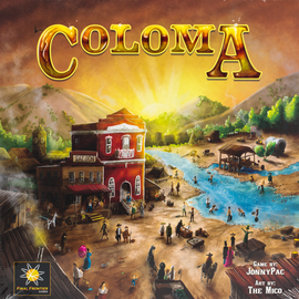 Buy Coloma and other Great Strategy Board Games from Out of Town Games