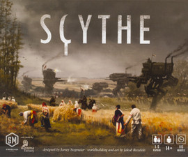 Buy Scythe and other Amazing Strategy Games from Out of Town Games