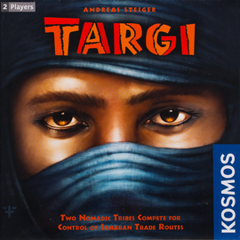 Buy Targi and other Amazing Two Player Games from Out of Town Games