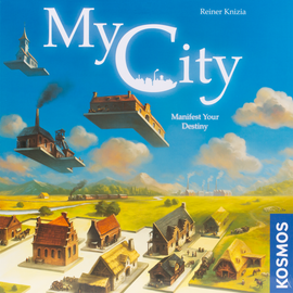 Buy My City and other family friendly legacy board games from Out of Town Games