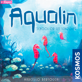 Buy Aqualin and other two player board games from Out of Town Games