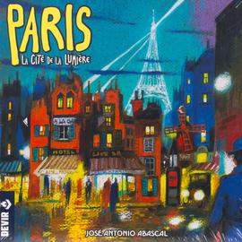 Buy Paris La Cité de la Lumière and other two player board games from Out of Town Games