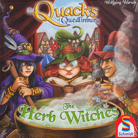 Buy Quacks of Quedlinburg Herb Witches expansion and other family games from Out of Town Games
