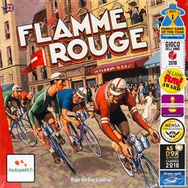 Buy Flamme Rouge and other racing board games from Out of Town Games