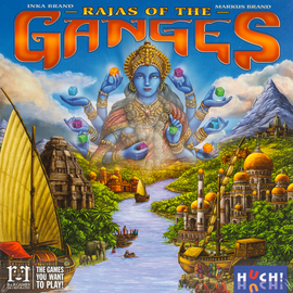 Buy Rajas of the Ganges and other strategy dice worker placement games from Out of Town Games