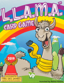 Buy L.L.A.M.A. the award winning children's card game from Out of Town Games (Llama)