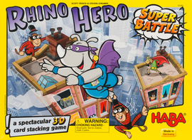 Buy Rhino Hero Super Battle HABA children's game from Out of Town Games