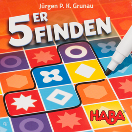 Buy 5ER Finden HABA roll and write game from Out of Town Games