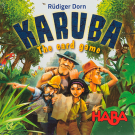 Karuba: The Card Game HABA family game from Out of Town Games