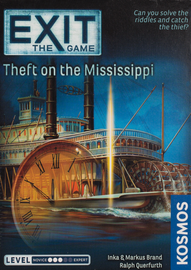 Buy Exit The Game: Theft on the Mississippi from Out of Town Games! Escape Room game