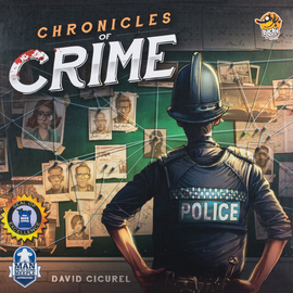 Buy Chronicles of Crime from Out of Town Games! Award winning detective game