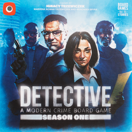 Buy Detective: A Modern Crime Board Game, Season One from Out of Town Games!