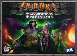 Buy Clank! Legacy: Acquisitions Incorporated and other legacy games from Out of Town Games