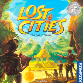 Buy Lost Cities board game from Out of Town Games