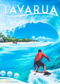 Buy Tavarua surfing board game from Out of Town Games