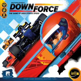 Buy Downforce family racing game from Out of Town Games