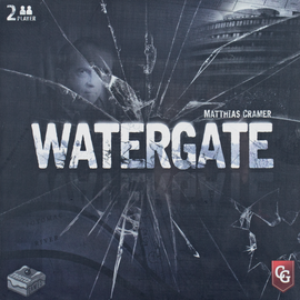 Buy Watergate two player game from Out of Town Games