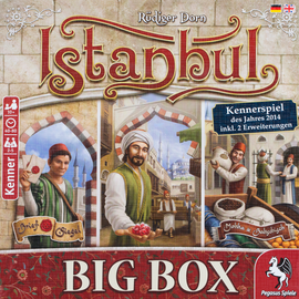 Buy Istanbul Big Box from Out of Town Games! Classic award winning game