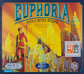 Buy Euphoria: Build a Better Dystopia and other Stonemaier Board Games from Out of Town Games
