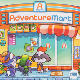 Buy Adventure Mart and other family card games from Out of Town Games