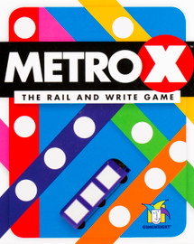 Buy Metro X and other flip and write games from Out of Town Games
