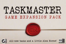 Buy Taskmaster The Board Game Expansion Pack party game from Out of Town Games