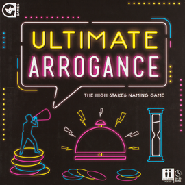 Buy Ultimate Arrogance party game from Out of Town Games