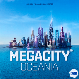 Buy MegaCity Oceania from Out of Town Games. Dexterity board games.