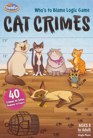 Buy Cat Crimes puzzle game from Out of Town Games