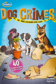 Buy Dog Crimes puzzle game from Out of Town Games