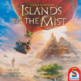 Buy Islands in the Mist from Out of Town Games. Family board game.