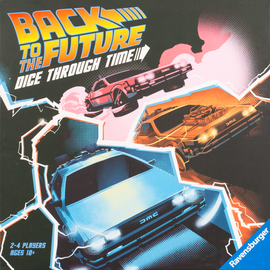 Buy Back to the Future Dice Through Time Board Game from Out of Town Games
